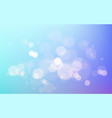 abstract blue background with blur bokeh light vector image