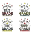 First Day of School SignsThese can be framed vector image vector image