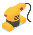 jack plane icon isometric 3d style vector image vector image