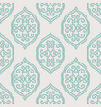 stylish arabic seamless pattern vector image vector image