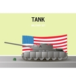 Military Tank vector image