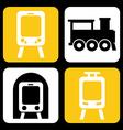 train design vector image
