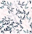 elegant vintage seamless floral pattern vector image vector image