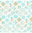 fabric feature seamless pattern vector image vector image