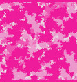 fashion camo colorful camouflage pattern vector image