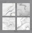 marble background collection geode stone texture vector image
