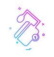 medical icon design vector image vector image