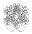 ornamental design element ethnic art vector image