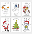 white paper cards vector image