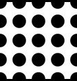 seamless polka dot pattern memphis group style vector image