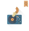 Music Dj Party vector image