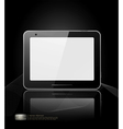 black tablet pad