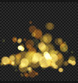 festive background with defocused lights effect vector image vector image