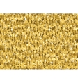 Gold glitter luxury texture Seamless pattern vector image