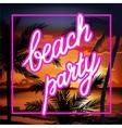 Hello Summer Beach Party Flyer vector image vector image