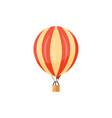 hot air balloons travel vector image vector image