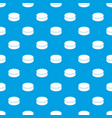 washer hockey pattern seamless blue vector image vector image