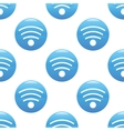 Wi-Fi sign pattern vector image vector image