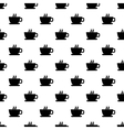 Seamless texture with a cup of coffee vector image