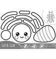 education paper game for children ant vector image vector image