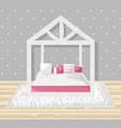 little girl bedroom flat style modern