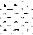 means of transport pattern eps10 vector image vector image