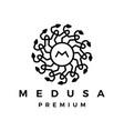 Medusa snake logo icon