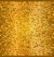 shining golden disco mosaic background gold vector image vector image