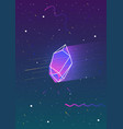 abstract vertical backdrop with glowing gradient vector image vector image
