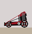 all terrain vehicle vector image vector image