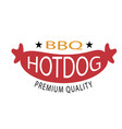 bbq bbq hotdog premium quality image vector image vector image