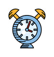 clock alarm watch time vector image vector image