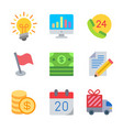 finance and money colored trendy icon pack 1 vector image vector image
