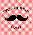 Graphic for fathers day vector image vector image