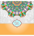 islamic vintage floral pattern vector image vector image