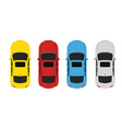 parking color up vector image vector image