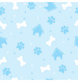 pattern for pets puppy vector image