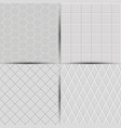 set of abstract seamless tiles background vector image vector image