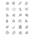 Sports Hand Drawn Doodle Icons 7 vector image vector image
