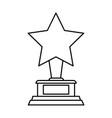 star trophy icon image vector image vector image