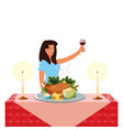 thanksgiving holiday design vector image