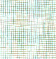 seamless pattern of checkered brush strokes vector image