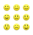 Emotions icon vector image vector image
