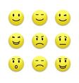 Emotions icon vector image vector image