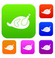 gammon set collection vector image vector image