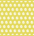 Marker dots on golden background seamless pattern