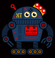 rolling robot 2 vector image vector image