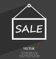 SALE tag icon symbol Flat modern web design with vector image