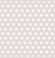 simple stars pattern abstract gray and white vector image vector image