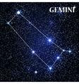 Symbol Gemini Zodiac Sign vector image vector image